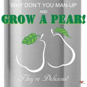 Grow a Pear-dark prints - Water Bottle