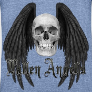 Fallen Angels C3 Long Sleeve Shirts - Unisex Tri-Blend T-Shirt by American Apparel