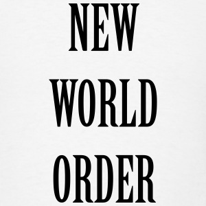 New World Order Hoodies - Men's T-Shirt