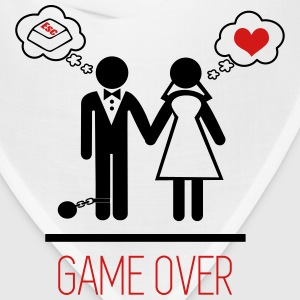 Couples : Game Over Wedding Marriage - Bandana