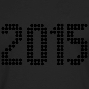 2015, Numbers, Year, Year Of Birth T-Shirts - Men's Premium Long Sleeve T-Shirt