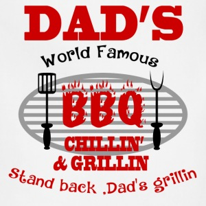 DAD'S GRILLIN3.png T-Shirts - Adjustable Apron