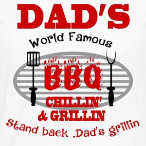 DAD'S GRILLIN3.png T-Shirts - Men's Premium Long Sleeve T-Shirt