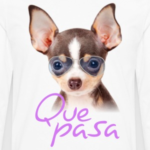 Player Chihuahua - Men's Premium Long Sleeve T-Shirt