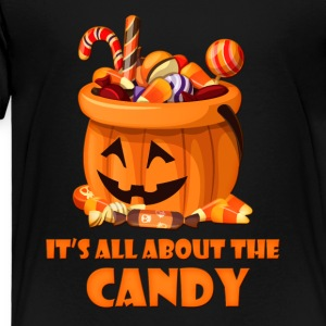 All About The Candy Kids' Shirts - Toddler Premium T-Shirt