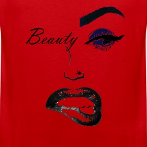 beauty (2) copy.png T-Shirts - Men's Premium Tank
