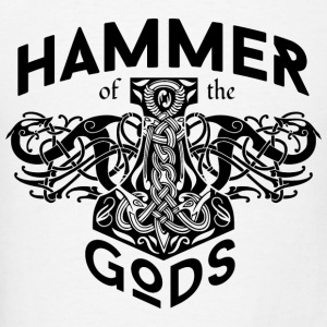 Hammer Gods Vikings Black Hoodies - Men's T-Shirt