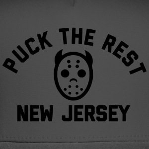 Puck the Rest New Jersey T-Shirts - Trucker Cap