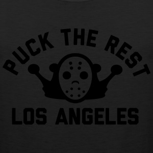 Puck the Rest LA T-Shirts - Men's Premium Tank