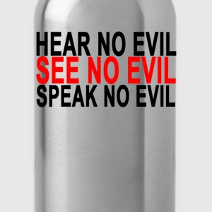 hear_no_evil_see_no_evil_speak_no_evil - Water Bottle