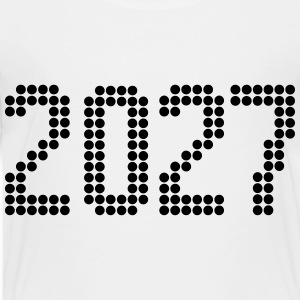 2027, Numbers, Year, Year Of Birth Kids' Shirts - Toddler Premium T-Shirt