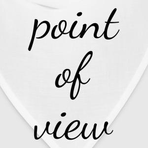 Point of View T-Shirts - Bandana