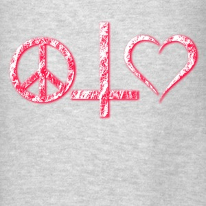 Peace Cross and Love Hoodies - Men's T-Shirt