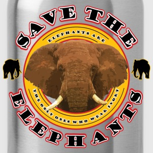 Save the Elephants - Water Bottle