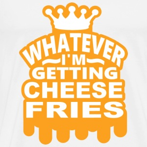 Cheese Fries Long Sleeve Shirts - Men's Premium T-Shirt
