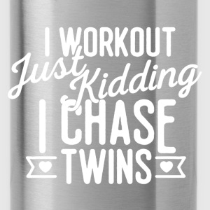 I Chase Twins - Water Bottle