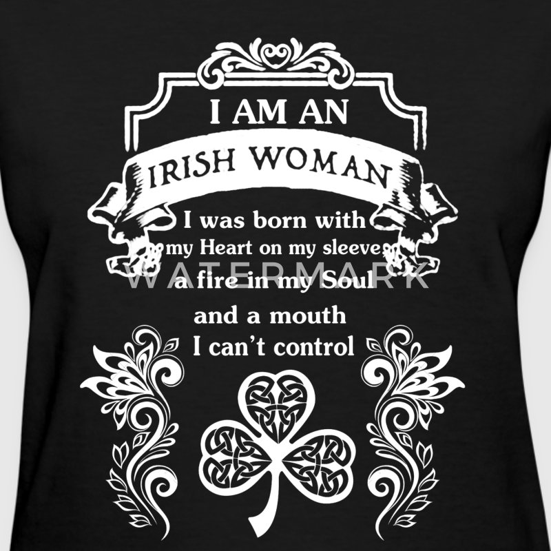 Irish Woman Shirt - Women's T-Shirt
