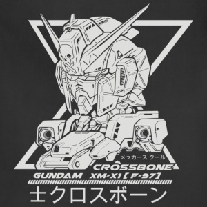 gundam crossbone - Adjustable Apron
