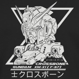 gundam crossbone - Men's Premium Long Sleeve T-Shirt