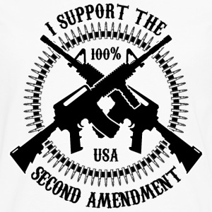 I Support The Second Amendment - Men's Premium Long Sleeve T-Shirt