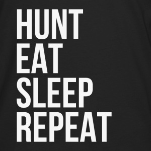 Hunt Eat Sleep Repeat Hoodies - Men's Premium Long Sleeve T-Shirt