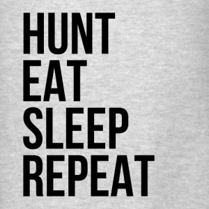 Hunt Eat Sleep Repeat Hoodies - Men's T-Shirt
