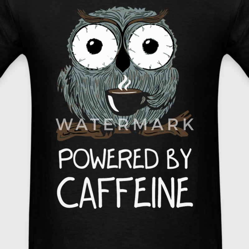 CAFFEINE ADDICT - Men's T-Shirt