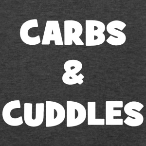 Carbs and Cuddles Bags & backpacks - Men's V-Neck T-Shirt by Canvas