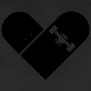 Minimal Skateboard - Heart Logo Design / Icon Polo Shirts - Leggings