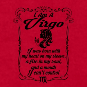 I Am A Virgo Mugs & Drinkware - Men's T-Shirt by American Apparel