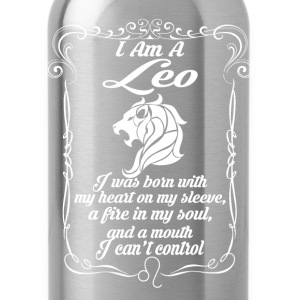 I Am A Leo Tanks - Water Bottle