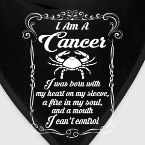 I AM A Cancer T-Shirts - Bandana