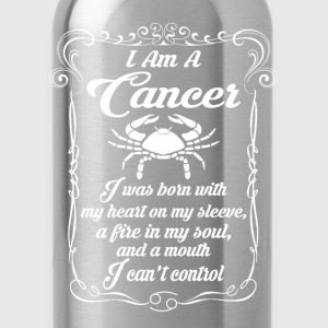 I AM A Cancer T-Shirts - Water Bottle