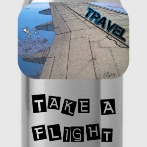 Travel - Take A Flight - Water Bottle