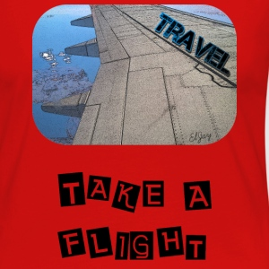 Travel - Take A Flight - Women's Premium Long Sleeve T-Shirt