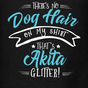 Glitter Akita Hoodies - Men's T-Shirt
