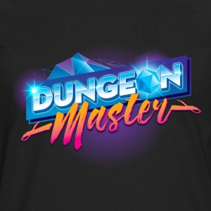 Dungeon Master & Dragons Outrun - Men's Premium Long Sleeve T-Shirt