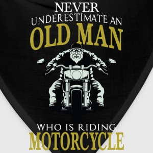 Motorcycle - Old man who is riding motorcycle tee - Bandana