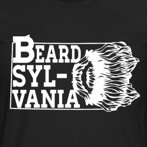Mustache - Sylvania awesome t-shirt for real man - Men's Premium Long Sleeve T-Shirt