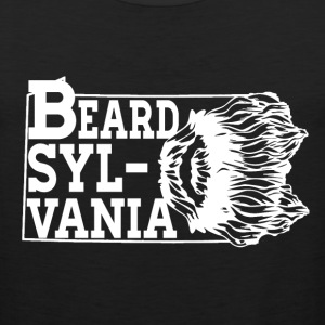 Mustache - Sylvania awesome t-shirt for real man - Men's Premium Tank
