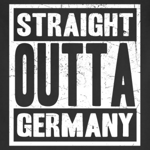 Germany - Straight outta germany awesome tee - Adjustable Apron