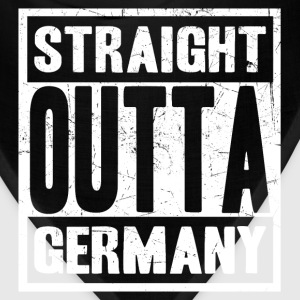 Germany - Straight outta germany awesome tee - Bandana