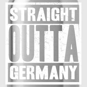 Germany - Straight outta germany awesome tee - Water Bottle