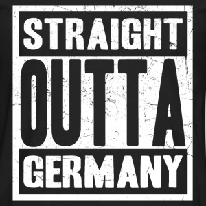Germany - Straight outta germany awesome tee - Men's Premium Long Sleeve T-Shirt