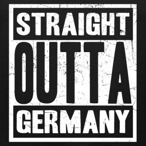 Germany - Straight outta germany awesome tee - Men's Premium Tank