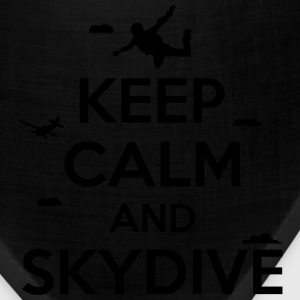 keep calm and skydive T-Shirts - Bandana