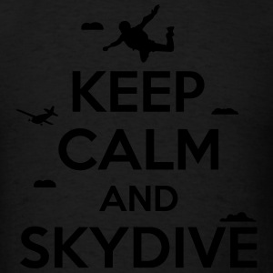 keep calm and skydive Sportswear - Men's T-Shirt