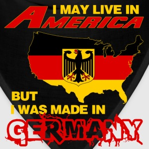 Germany - Live in America but made in germany - Bandana