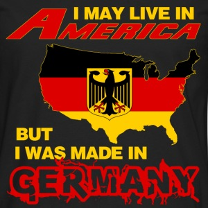 Germany - Live in America but made in germany - Men's Premium Long Sleeve T-Shirt