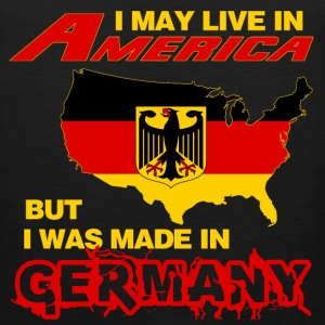 Germany - Live in America but made in germany - Men's Premium Tank